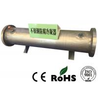 R134a Refrigerant Stainless Steel Heat Exchanger Sea Water Tube Medium Manufactures