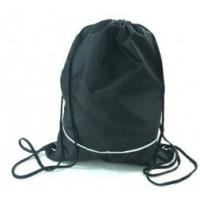 Cloth Drawstring Gift Pouches Bag Polyester Sports Drawstring Backpack  Manufactures
