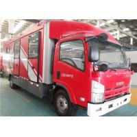 Quality Fast Speed Gas Supply Fire Truck 4x2 Drive Imported Lifting Lighting System for sale