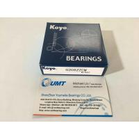 KOYO precision bearing  6208ZZ deep groove ball bearing 40*80*18 mm using for conveyor ,mixer etc. Manufactures