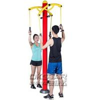 Outdoor Fitness Equipment outdoor arm stretcher upper limbs trainer Manufactures