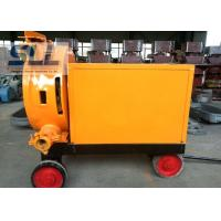 Easy Moving Hose Squeeze Pump Foam Concrete Mixer With High Air Compressor Manufactures