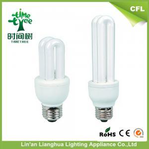 China Indoor Small 2U 7watt Halogen U Shaped Fluorescent Light Bulbs With High Lumen on sale
