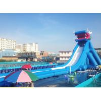 50 * 15 * 13m Faucet Large Inflatable Slide For Square Grass Outdoor Entertainment Manufactures