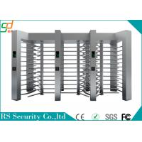 Single Route Way Controlled Access Turnstile Full Height For Building Entrance Manufactures