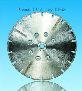 China Diamond Saw Blades with Flange and U Tooth (EC103) on sale