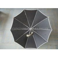 """25"""" 27"""" 30"""" Big Size Promotional Gifts Umbrellas Zin Plated Metal Shaft Anti Rust Manufactures"""