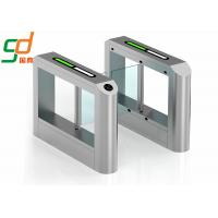 High Security Double Swing Gate / Electric  Semi-Automatic Pedestrian Turnstile Manufactures