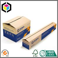 Flexo Two Color Printing Long Size Corrugated Box; Long Packaging Box Manufactures
