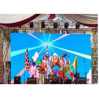 Large Image Full Color Stage Curved Outdoor Advertising Led Display Screen P5.95 Manufactures