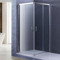 8mm Glass Bathroom Shower Enclosures , 1900MM height Corner Shower Cubicles Manufactures