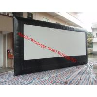 Quality inflatable projection screen inflatable projection screen pvc matt white projection screen for sale