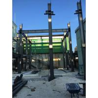 Quality Pre - Fabricated Warehouse Steel Frame With Steel Floor Decks Power Produce for sale