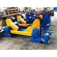 Self Alignment Heavy Duty Rotator For Tack Welding 20ton Pipes Or Tanks , 3m Diameter Manufactures