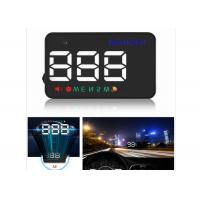 3.5 Inch Audi A5 Mini Head Up Display A5 GPS LED HUD Display Speed Compass Manufactures