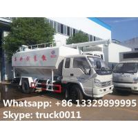 forland RHD mini bulk lickstock and poultry feed transported truck for sale, best price 4tons animal feed pellet truck Manufactures