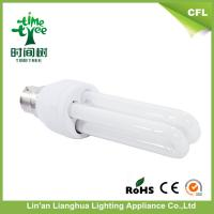 China 2U Shaped 13 W B22 / E27 Fluorescent Light Bulbs / Energy Saving Light Lamp on sale
