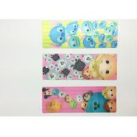 Eco-friendly Kids 3D Lenticular Bookmarks With FAMA 0.6mm PET Manufactures
