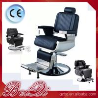 Quality 2017 hot hair salon furniture cheap barber chair price with parts black recline for sale