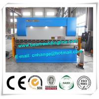 E21 NC 2500mm Sheet Metal Brake Press , WC67Y 160T Steel Plate Press Brake Manufactures