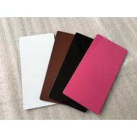 High Strength Purple Aluminium Composite Sheet Mould - Proof For Wallboard / Ceiling Manufactures