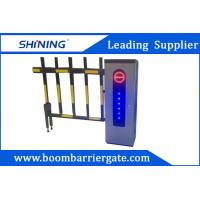 2.0 mm Cold Steel Driveway car Parking Barrier Gate With Led Light Manufactures