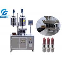 20L Double Heating Tank Cosmetic Filling Machine With Twelve Nozzles Manufactures