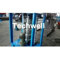 Steel Coil Sheet Metal Bending Machine For Curved Arch Roofing Sheet ,  Auto Crimping Curved Machine Manufactures
