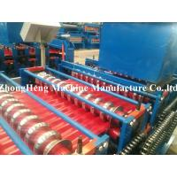 Galvanized Metal Milling Roofing Sheet Forming Machine with speed 10 m/min