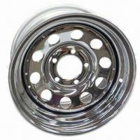 Steel Trailer Rim with Ellips 10 Style, 114.3mm PCD and 84.3mm Center Hole Manufactures