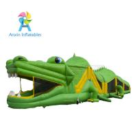 2017 New design Inflatable obstacle course for party rental/ kids Crocodile obstacle course Manufactures