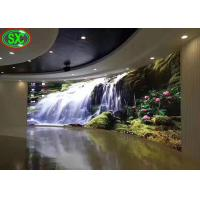 Curved Indoor Led Display Board , Led Video Display Panel Solution P3.91/P4.81 Manufactures