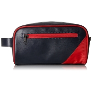 Waterproof Men PU Leather Travel Shaving Kit Bag Manufactures