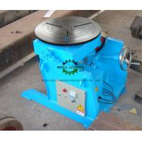 Manual Flange Rotary Table For Welding , Tube Welding Positioner 0.2 Ton Tilting  Capacity Manufactures