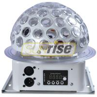 Quality Mini Led Rgb Crystal Magic Ball Effect Light 6x3W With 5 Color Circular Motion Effect for sale