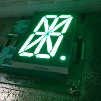 Pure green single digit 16 Segment LED Display  for digital read-out panel Manufactures