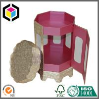 Octagon Shape Style Matte Color Print Rigid Chipboard Paper Gift Box with Lid Manufactures