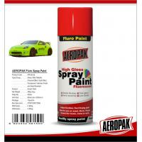 High Gloss Car Paint Aerosol Cans / Scratch Resistant Quick Dry Spray Paint  Manufactures