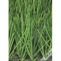 Abrasion Resistant Europe Soccer Artificial Grass / Soccer Synthetic Turf Manufactures