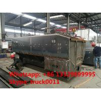 factory sale hydraulic discharging 20m3 farm-oriented animal feed container,CLW brand 20m3 bulk feed tank for sale Manufactures