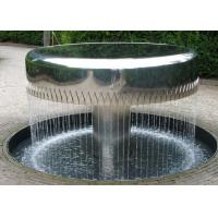 Professional Stainless Steel Water Feature Fountains Mirror Polishing Manufactures