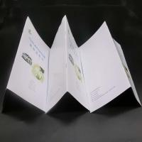Offset Paper Saddle Stitched Booklet With Glossy / Matte Lamination Manufactures
