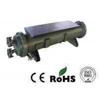 Marine Water Cooled Refrigeration Condenser Heat Exchanger Carbon Steel Cover Material Manufactures