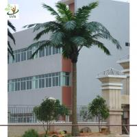 UVG PTR008 8m tall Plastic artificial ornamental palm tree wedding decorations for sale Manufactures