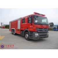 Electric Primer Pump Big Fire Trucks , 325KW Max Power Modern Fire Truck Manufactures
