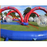 inflatable zorb ball track Manufactures