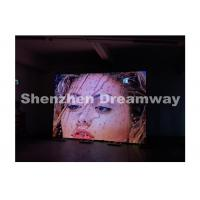 China P6 Indoor LED Screen Rental , Steel Cabinet Led Rental With 96 x 96 dots on sale