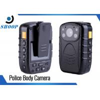 Password Protection 16GB Wearable Police Body Cameras Wide Angle 140 Degree Manufactures