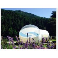 Transparent Inflatable Bubble Tent Night , PVC Tarpaulin Inflatable Bubble Room Manufactures