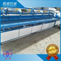 380V Voltage Full Automatic Chain Link Fence Machine 4.2 Meter Weaving Breadth Manufactures
